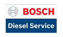 A Bosch Diesel Service (BDS) logo means that the auto repair facility is qualified to repair and diagnose all Bosch diesel injector pumps and related parts.