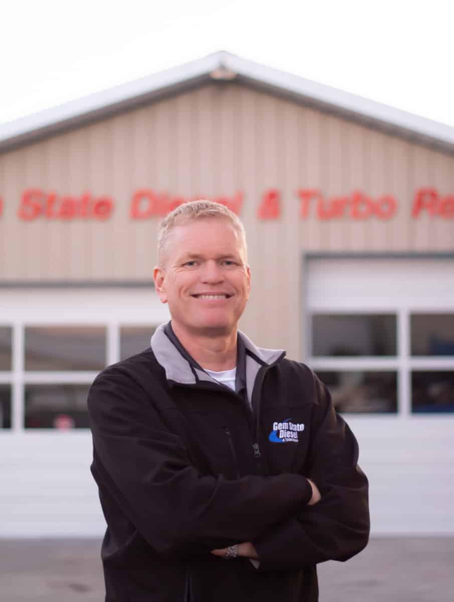 John Nesmith, owner of Gem State Diesel and Turbo Repair in Meridian and a diesel engine expert